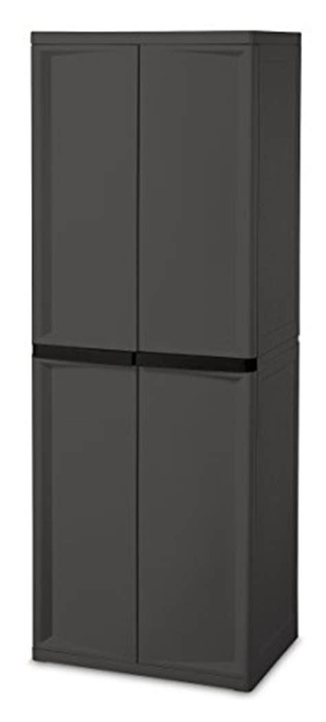 sterilite 4 shelf cabinet flat gray sterilite 01423v01 4 shelf cabinet flat gray 1 pack