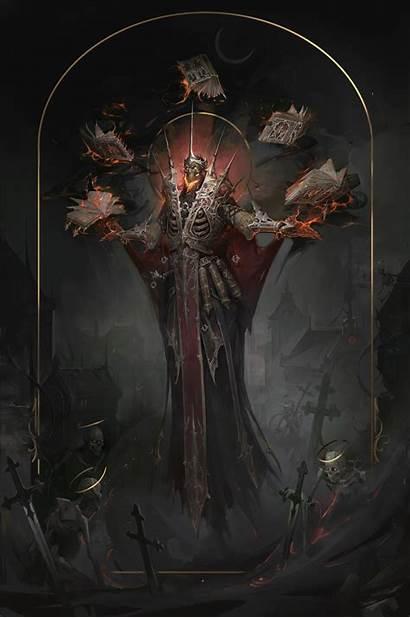 Fantasy Lich Character Mythology Artwork Darkness Fictional