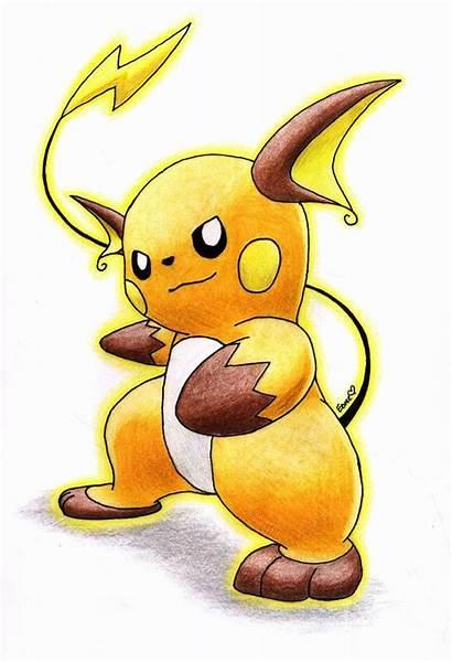 Raichu Pokemon Pikachu Chibi Draws Deviantart Fanpop