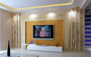 Living Room Design With Tv On Wall – Modern House