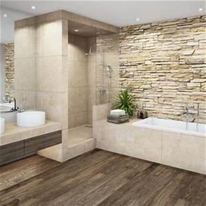 Steinwände Für Innen : steinw nde badezimmer wohnideen bilder ~ Michelbontemps.com Haus und Dekorationen