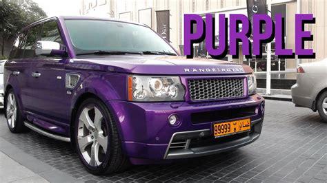 range rover purple purple range rover sport youtube