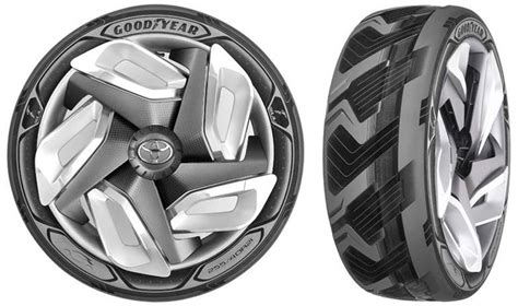 Goodyear Releases Electricitygenerating Tire Concept