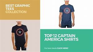 Top 12 Captain America Shirts // Best Graphic Tees ...