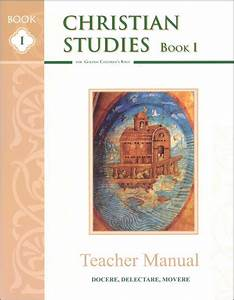 Christian Studies Book I Teacher Manual
