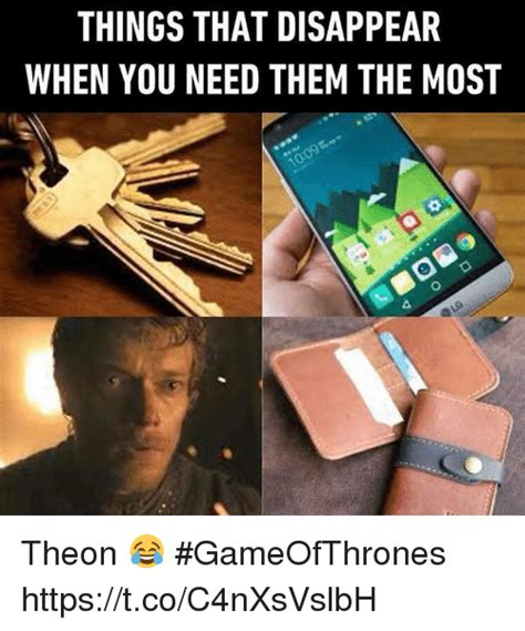 Disappearing Meme - 25 best memes about theon theon memes