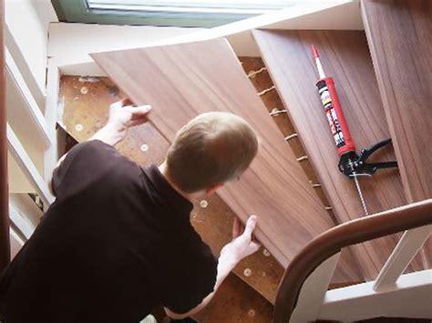 alte stufen renovieren laminat auf treppen verlegen bauen de