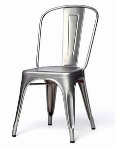 Chaise Metal Tolix : 13 id es de chaise pour une d co industrielle ~ Teatrodelosmanantiales.com Idées de Décoration