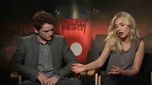 Anton Yelchin and Imogen Poots Interview Fright Night ...