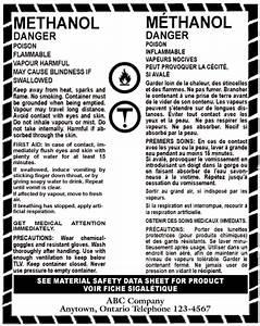 appendix ii whmis supplier label workplace hazardous With whmis labels template