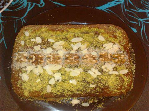 cuisine tunisienne gateau gâteau de sorgho khobzét drôo dessert recette