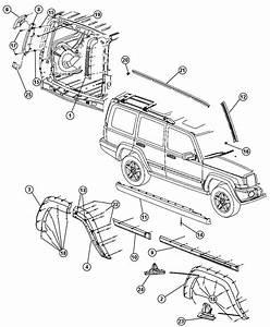 Jeep Commander Nut  Rivet  Rivnut  Hex Drive  Installation