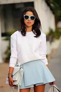 Mini Skirt - Just The Design  Wearing
