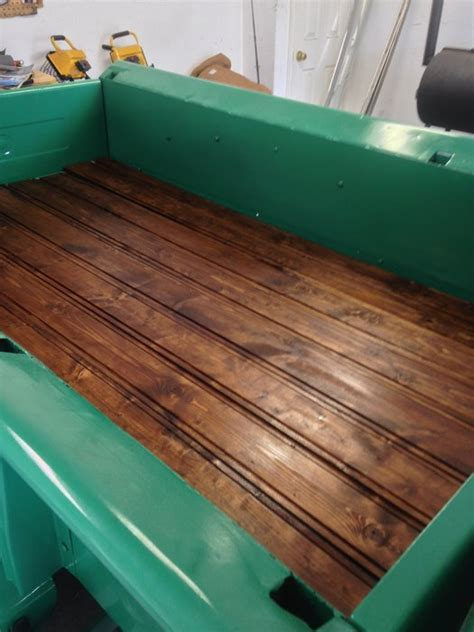 wooden truck bed wood truck bed by puddlepirate lumberjocks com