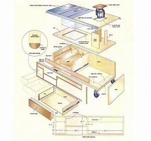 Download Table Saw Workstation Plans Plans Free