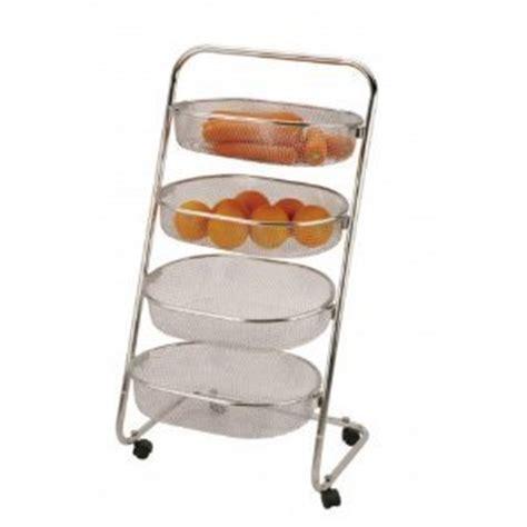 kitchen vegetable storage rack vegetable rack in stainless steel 4 tier great product 6380