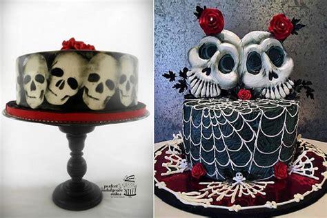 Gothic Halloween Cakes