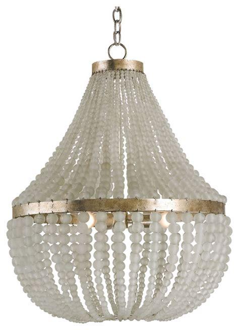 coastal style chandeliers edisto coastal style white beaded chandelier