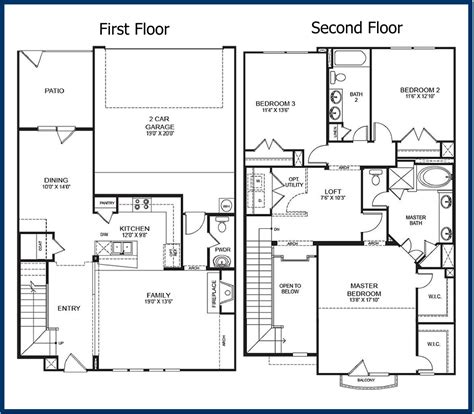 2 floor plans with garage the parkway luxury condominiums