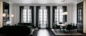 Canape Vert Emeraude : style haussmannien frenchy fancy ~ Teatrodelosmanantiales.com Idées de Décoration