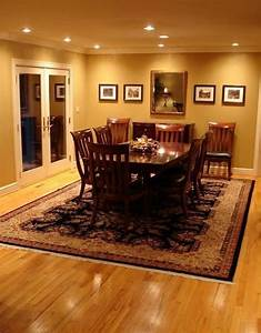 Recessed, Lighting, Over, Dining, Room, Table