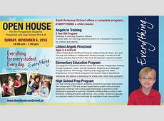 Please Join Us! Open House Sunday November 6, 2016 1000am