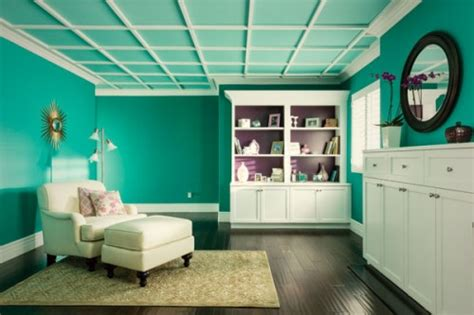 10 bold ceiling colors inhabit blog