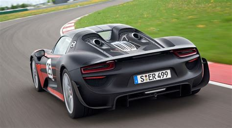 Porsche 918 Spyder (2013) Final Specifications And Prices