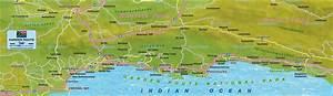 karte von garden route sudafrika karte auf welt atlas With katzennetz balkon mit accommodation garden route south africa