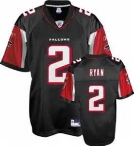 NFL Matt Ryan Atlanta Falcons Black Jersey