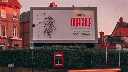 Dracula Ad Billboard Sun Clever Bbc Hidden