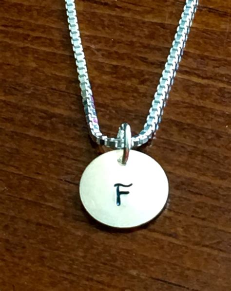 Initial Charm Necklace- gift for her | kandsimpressions