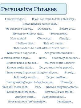 persuasive writing  writing  pinterest