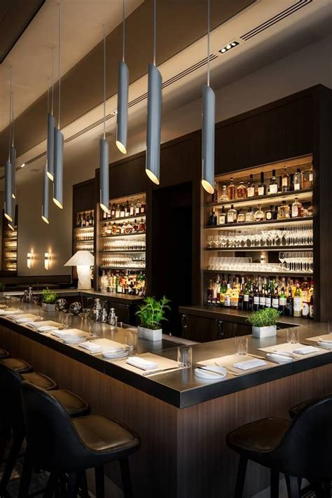 Bar Designs by Wine Bar Nougatine At Jean George S At