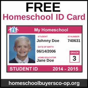 how to make student id cards free printable paradise With homeschool id template