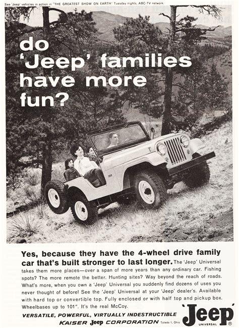 jeep print ads 1964 jeep cj 5 ad classic cars today online
