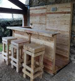 wooden patio bar ideas best 25 wood pallet bar ideas on outdoor