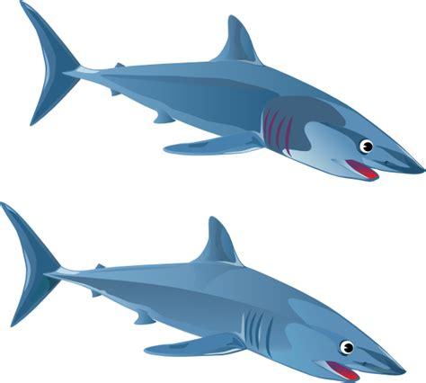 Shark Clipart Blue Shark Clip At Clker Vector Clip