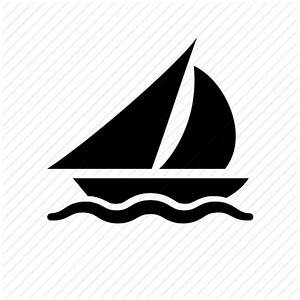 Sailing icon - Logo graphics template - DownloadClipart.org