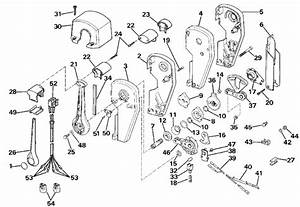 Johnson Remote Control Assembly