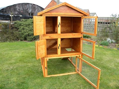 How To Make Your Own Rabbit Hutch by Make Your Own Rabbit Hutch Woodworking Projects Plans