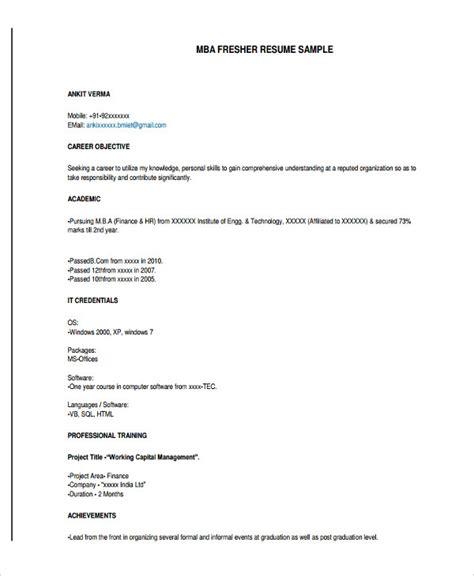 freshers resume samples   photo cv resume templates