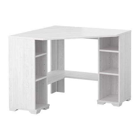 bureau d angle blanc ikea borgsjö bureau d 39 angle blanc ikea