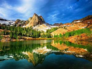 utah, , usa, , mountain, , lake, , trees, , nature, , landscape, wallpapers, hd, , , , desktop, and, mobile, backgrounds