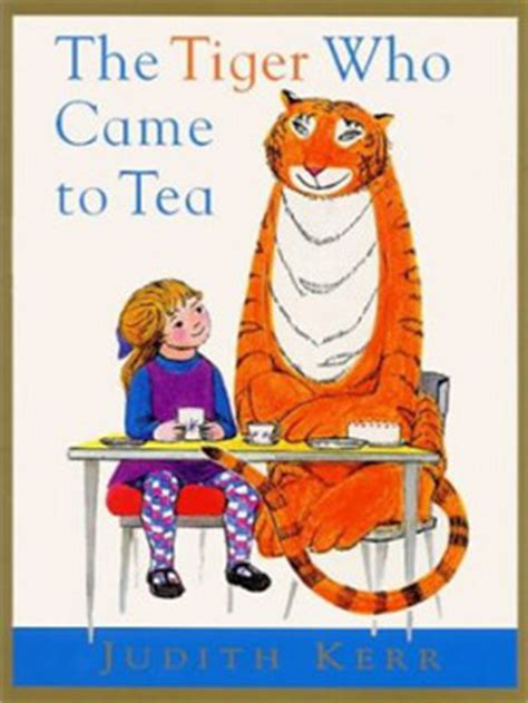 tiger    tea  judith kerr