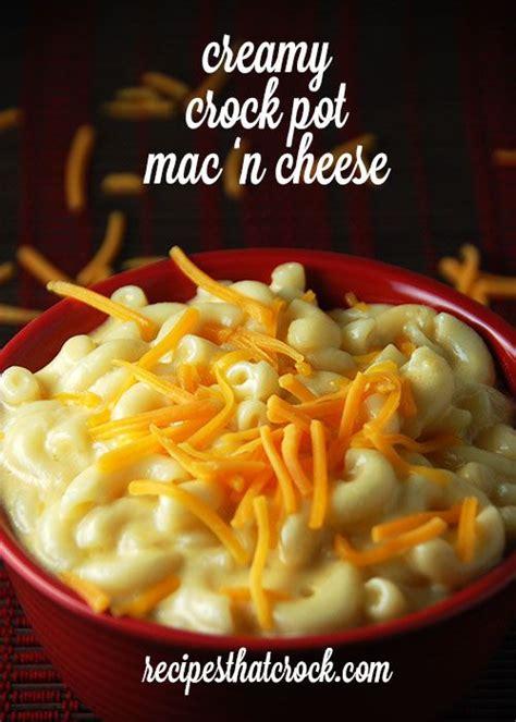 Crock Pot Mac N Cheese