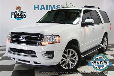 ford expedition limited  suv  sale  hollywood