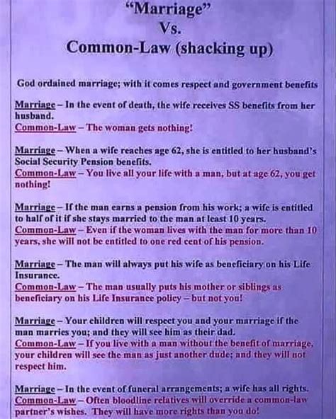 marriage vs common quotes ps and marriage