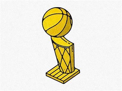 Trophy Nba Championship Dribbble