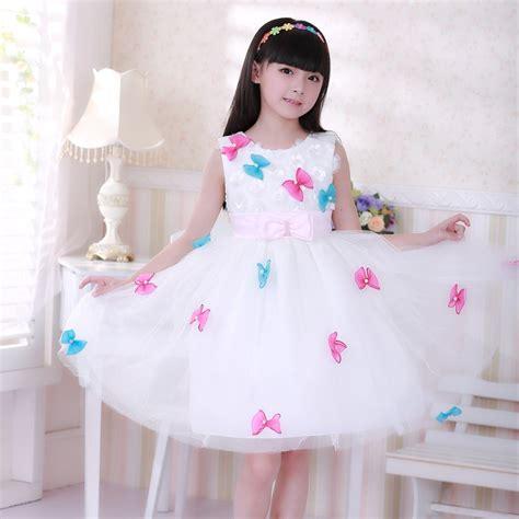 beautiful flower girl dresses bow prom dress